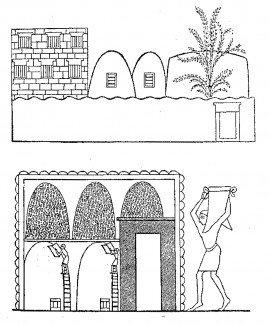 Ægyptisk kornkammer melmider