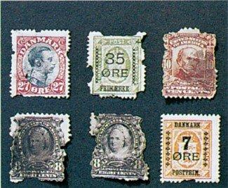 Sølvkræ i frimærkesamling