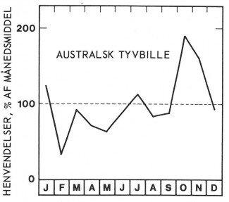 Sæson for australsk tyvbille